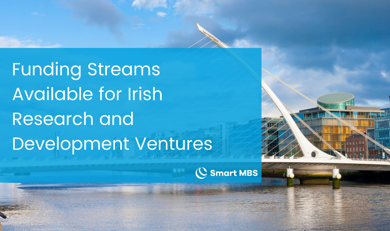Funding Streams Available for Irish Research and Development Ventures