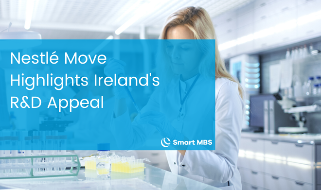 Nestlé Move Highlights Irelands R & D Appeal